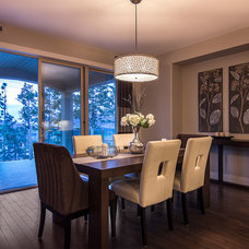 Contemporary Dining Room by Dilworth Homes