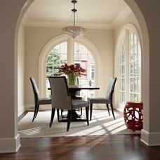 Traditional Dining Room by David Heide Design Studio