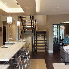 Contemporary Dining Room by Habitat Studio