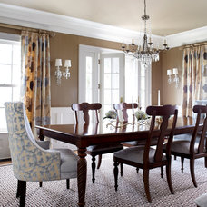 Traditional Dining Room by Jules Duffy Designs