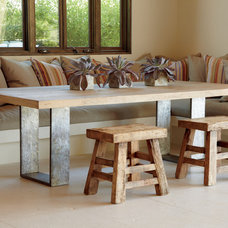 contemporary dining tables by Artifacts International