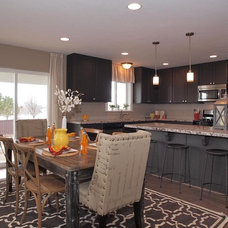 Contemporary Dining Room by Candlelight Homes