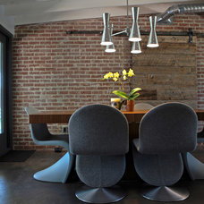 Industrial Dining Room by The Ranch Mine