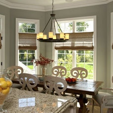 Traditional Dining Room by Interior Enhancement Group, Inc.