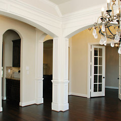 traditional dining room by Greenbrook Homes