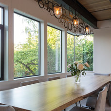 Contemporary Dining Room by Coop 15 Architecture