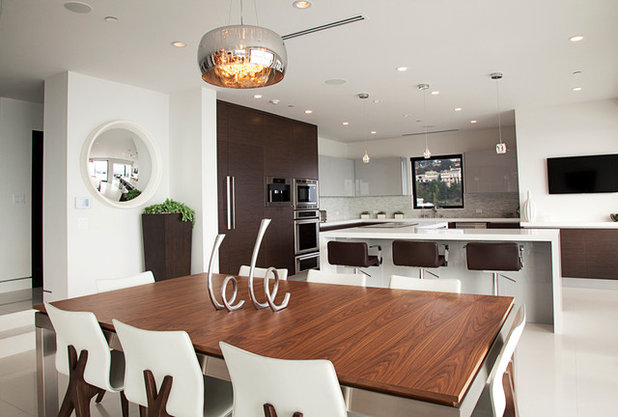 Modern Dining Room by Anette Sharvit Designs