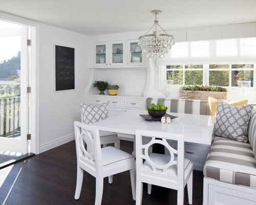 White Kitchen Table Home Design Ideas, Pictures, Remodel and Decor