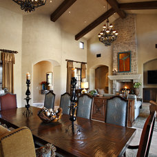 Traditional Dining Room by Linda Seeger Interior Design