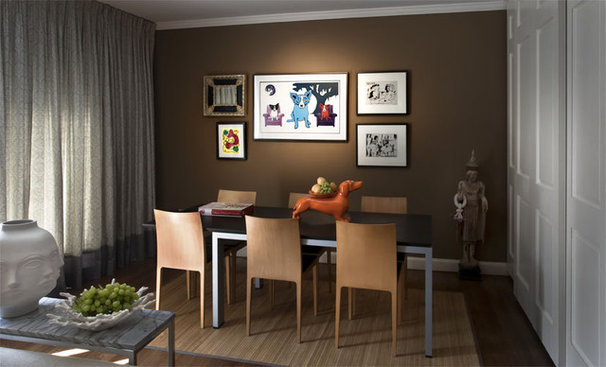 Contemporary Dining Room by Supon Phornirunlit / Naked Decor