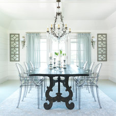 Beach Style Dining Room by Donna Elle Seaside Living