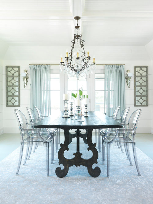 Lucite Dining Chairs Houzz