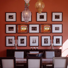 Eclectic Dining Room by Susan Cohen Associates, Inc.