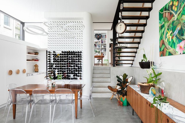 Contemporary Dining Room by Day Bukh Architects