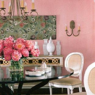 Ispirazione per una sala da pranzo tradizionale