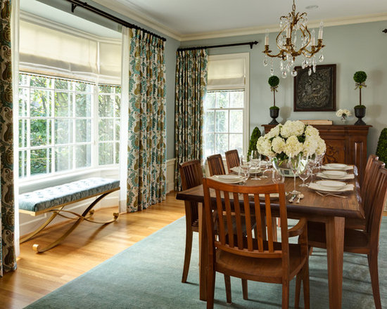 dining room bay windows | houzz