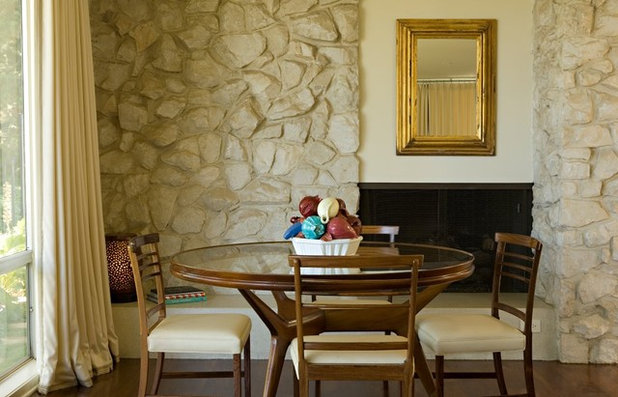 Good Transitional Dining Room by Elizabeth Dinkel