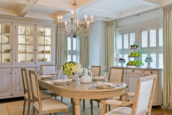 Traditional Dining Room by Anita Clark Design