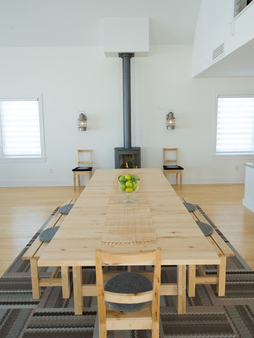 Houzz Scandinavian Dining Table Design Ideas Remodel Pictures