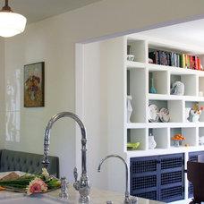 Contemporary Dining Room by Design Vidal