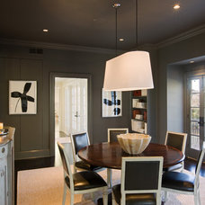 Modern Dining Room by Texas Construction Company