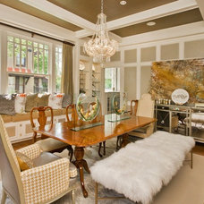 Eclectic Dining Room by Gigi Magness Design