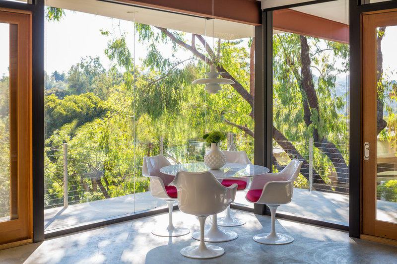 Contemporary Dining Room by ANX / Aaron Neubert Architects