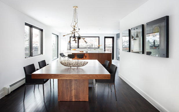 Contemporary Dining Room by catlin stothers design