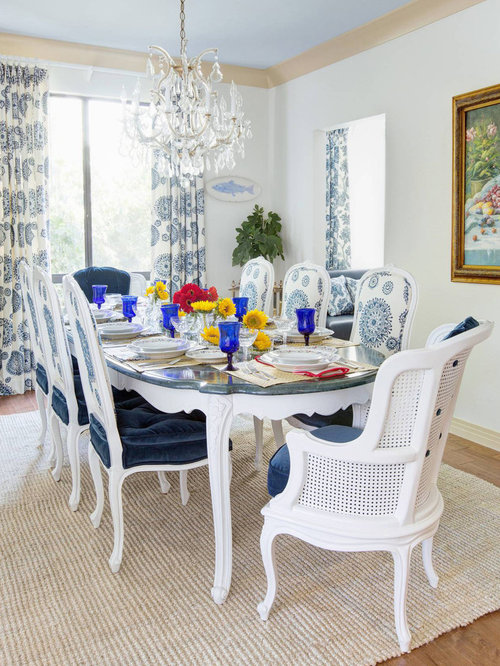 Top 100 Beach Style Dining Room Ideas & Decoration Pictures   Houzz