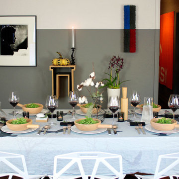 Tablescapes: Thanksgiving Table Setting 2012