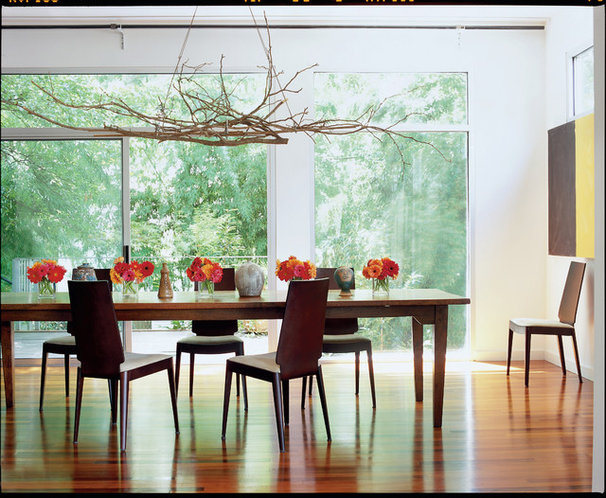 Modern Dining Room by TaC studios, architects