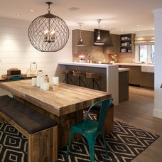 Industrial Dining Room by Artistic Designs for Living, Tineke Triggs