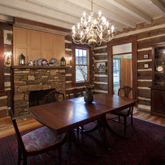 traditional dining room by Clark & Zook Architects, LLC