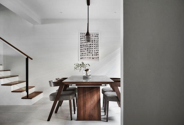 Contemporary Dining Room by Icon Interior Design Pte Ltd