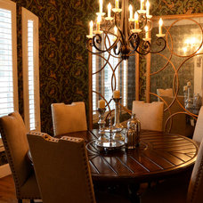 Traditional Dining Room by Kevin Twitty- IBB Designer