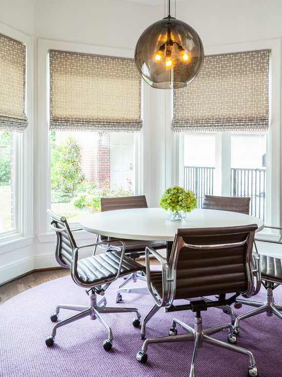 Marvelous Dining Room Roman Shades Houzz