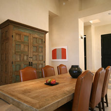 Contemporary Dining Room by Lifdom Properties, LLC