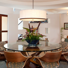 Contemporary Dining Room by Tanya Burley Design - The Studio on First