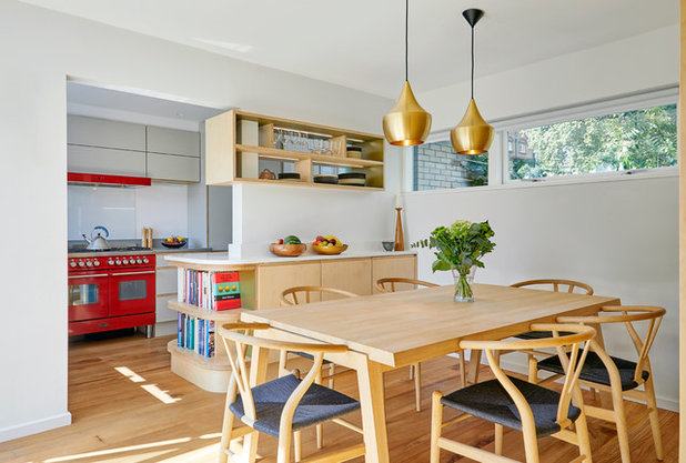 Simple Dining Room Color Ideas: 9 Of The Most Gorgeous Plywood Kitchens On Houzz