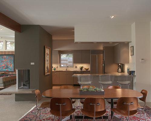 Open Plan Dining Room Design Ideas Renovations Amp Photos