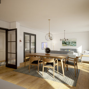 Dining room - scandinavian dining room idea in Other
