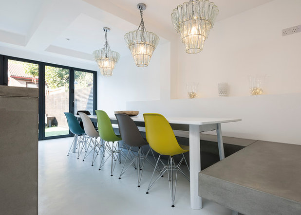 Contemporary Dining Room by Grand Design London