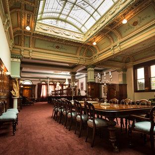 Foto di una sala da pranzo vittoriana