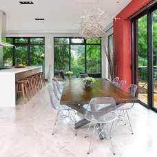 Contemporary Dining Room by Upside  Development