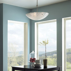 Contemporary Dining Room by Littman Bros Lighting