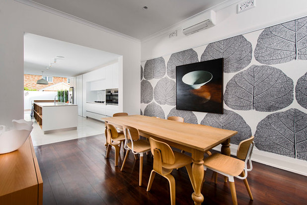 Contemporary Dining Room by Mata Design Studio