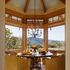 Contemporary Dining Room by ScavulloDesign Interiors