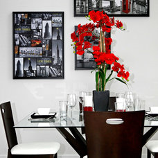 Contemporary Dining Room by RT Designs (Roula Thalassinos Designs Inc.)