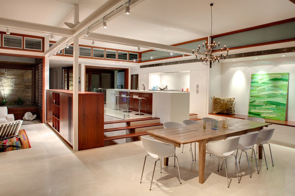 Contemporary Dining Room by CplusC Architectural Workshop
