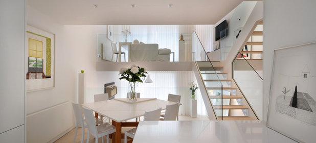 Scandinavian Dining Room by TG-Studio